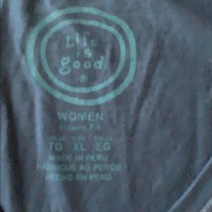 Life Is Good Tops - Ladies Life Is Good T-SHIRT